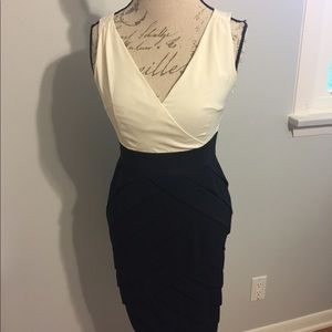 NY&Co Black & White Cocktail Dress
